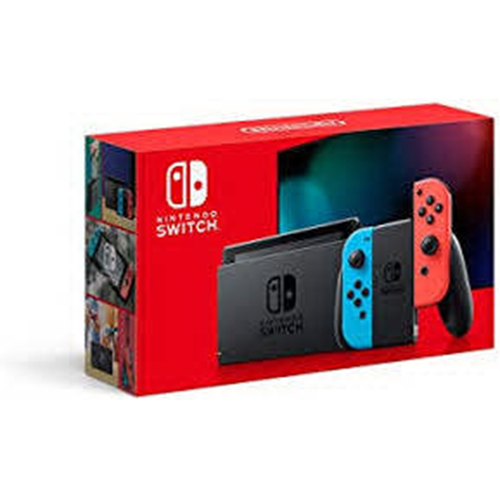 Image For Nintendo Switch with Neon Blue & Red Joy-Cons