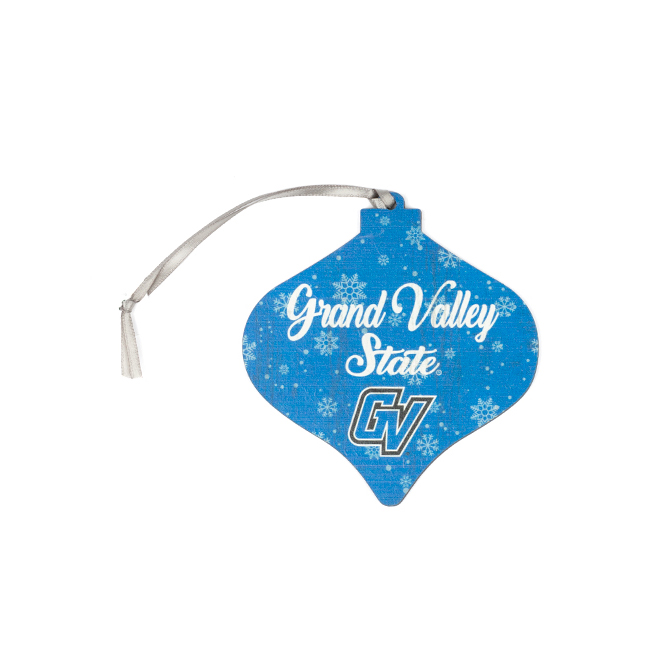 Image For GV Wood Bulb Ornament
