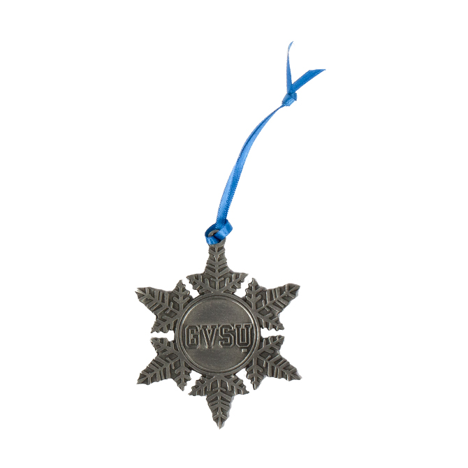 Image For GVSU Pewter Snowflake Ornament